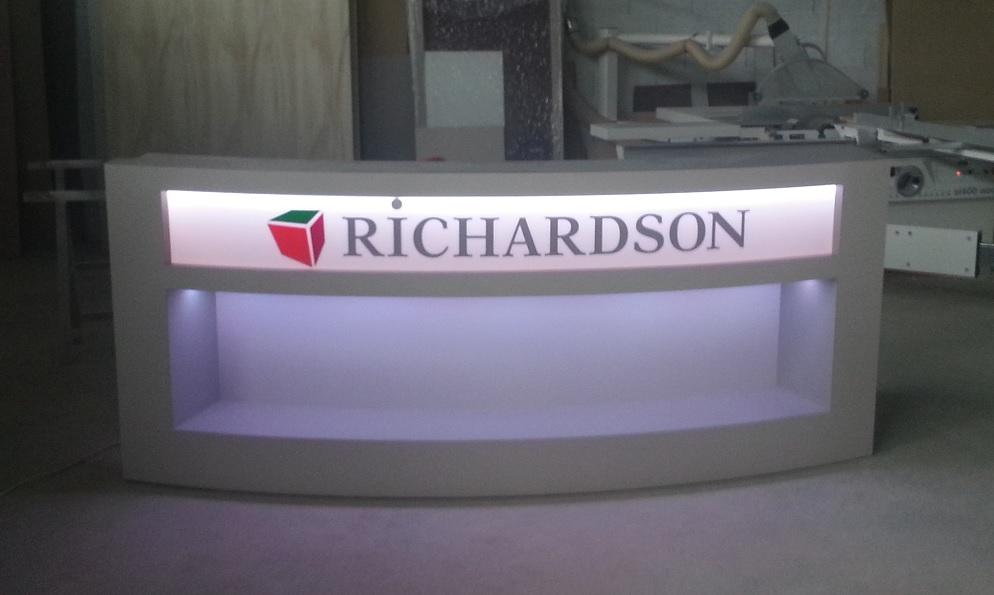 Comptoir accueil Richardson Albi