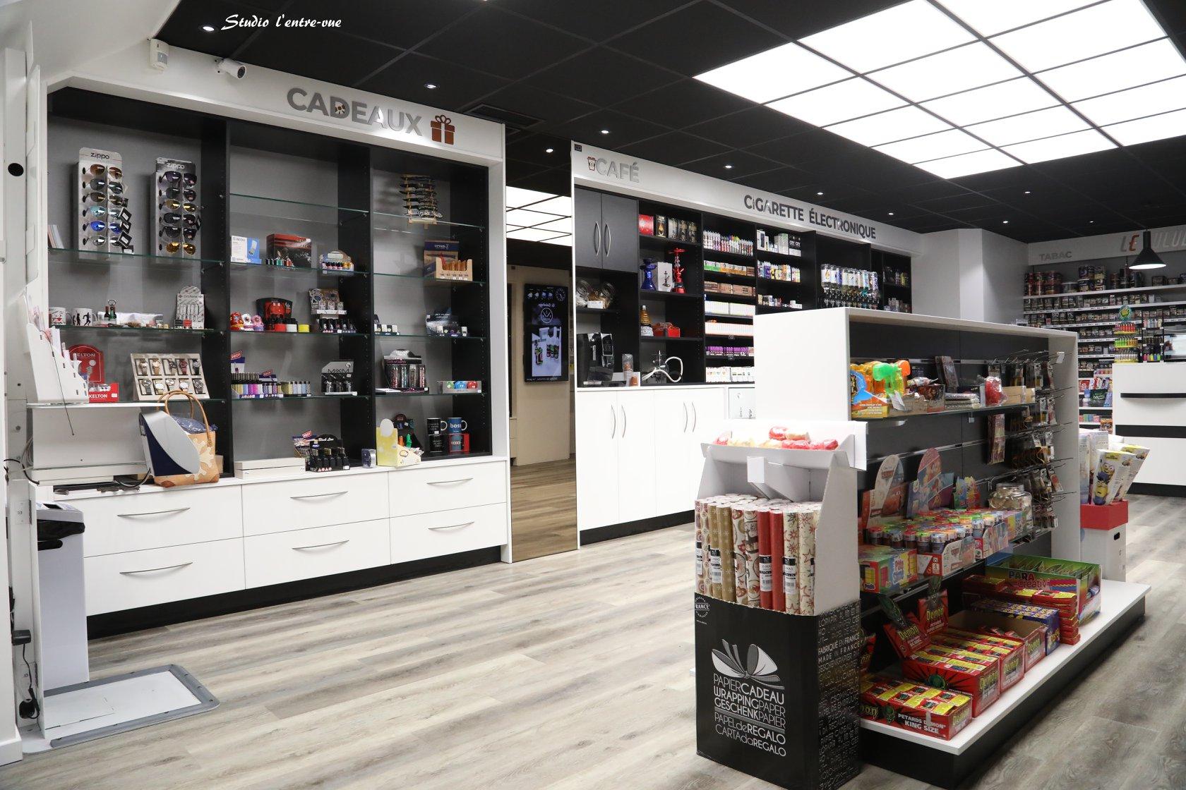 Agencement d'une boutique sur Carmaux